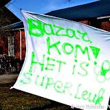 Bazar bij Hervormd gebouw Het Tehuis in Nieuwe Pekela - Foto's Harry Wolterman