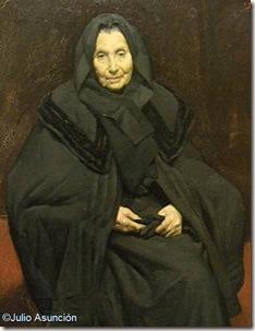 Madre del pintor - Ignacio Díaz Olano - Museo de Bellas Artes de Vitoria