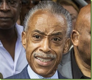 sharpton outraged