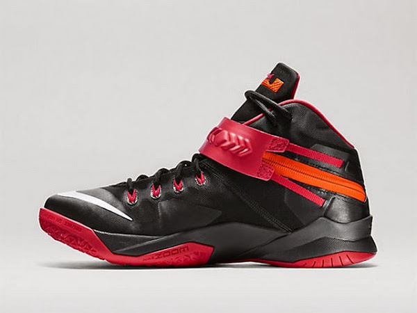 Available Now Nike Zoom Soldier VIII 8 Black and Red