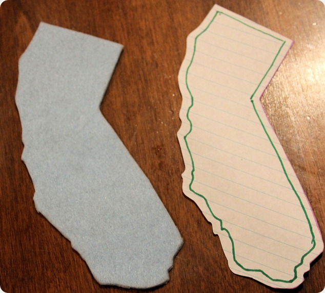 diy california baby gift
