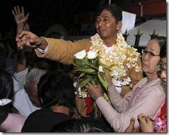 Min Ko Naing released