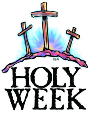holy week 2012