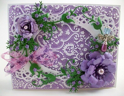 Lavender Mother's Day Card