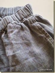 Flax pocket