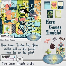 Here Comes Trouble - Bundle (STS)