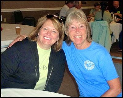 Michelle and Peg - from Iowa