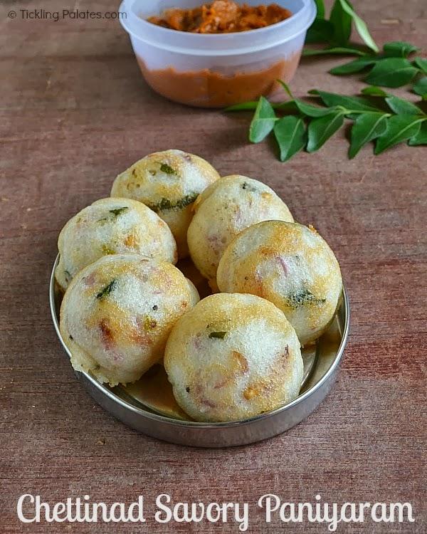 Chettinad Savory Paniyaram Recipe