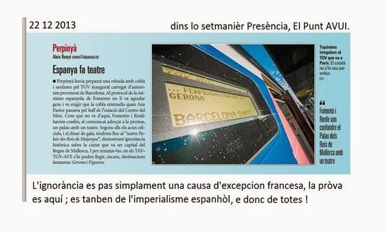 excepcion culturala l'ignorança espanhòla 22 12 2013