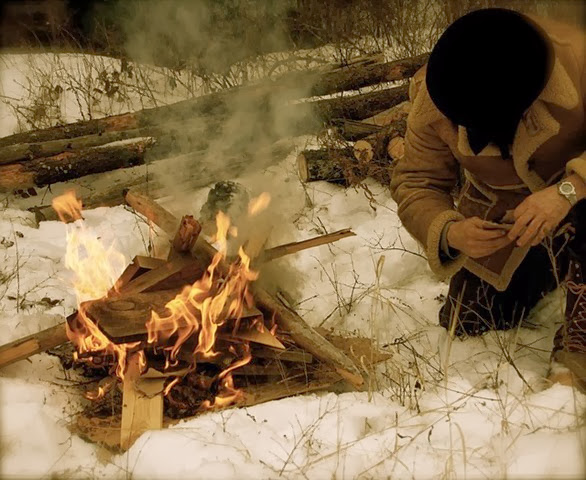 keep warm when camping backpacking