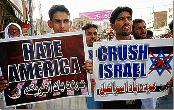 Muslim Hate blamed on USA-Israel