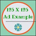 125x125 ad example