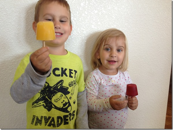 Transformation Tuesday - Popsicles - Reversible Transformation
