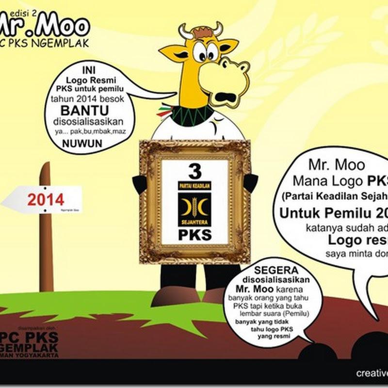 Misteri Maskot Sapi pada Sosialisasi Logo Baru PKS untuk Pemilu 2014