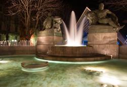 Torino, fontana Angelica