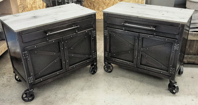 Real industrial edge furniture llc projects for Loveland tattoo shops