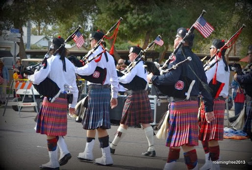 Firefighter Bagpipers