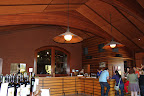 The tasting room is absolutely beautiful--wooden beams galore!