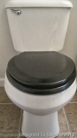 Upgrading a toilet