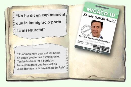 Paraules García Albiol