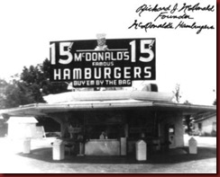 Primeiro Mac Donalds