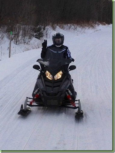 snowmobiling valentines