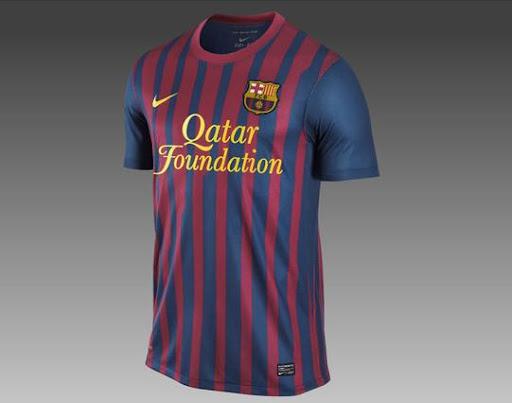 imagenes de la camiseta del barcelona 2011/2012