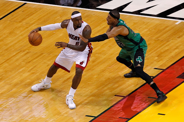 Behind James and Wade Miami Dominates Boston in ECF Game One