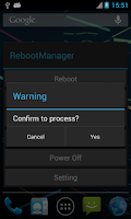 Screenshot of Reboot Manager