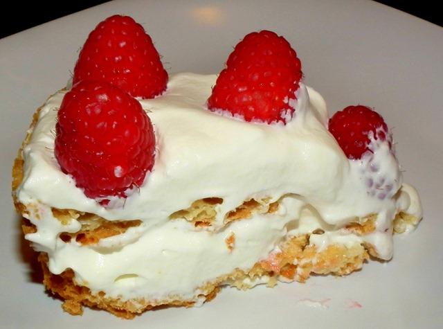 SRC Raspberry Meringue Cake 10-27-11