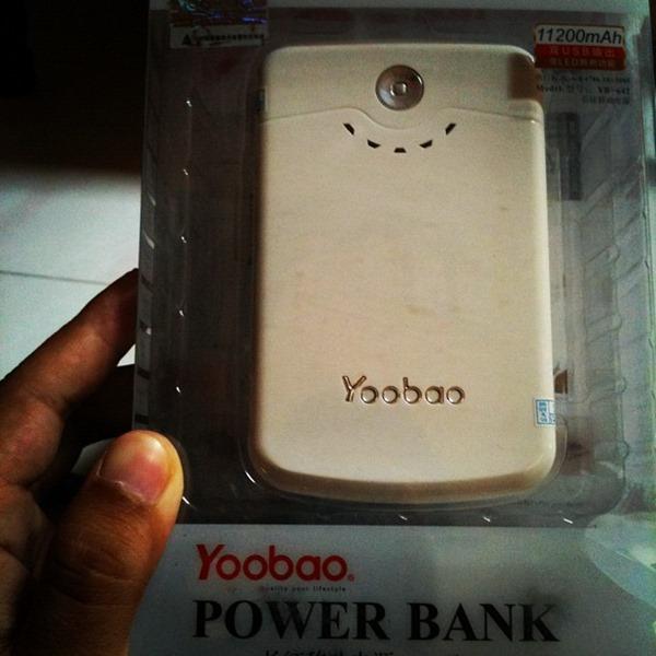 Ulasan Yoobao Power Bank 11200mAh
