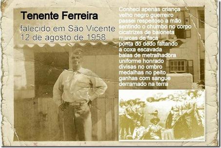 Tenente Ferreira Homenagem