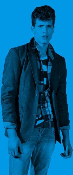 Adrian Cardoso by Daniel Sannwald for Pull & Bear F/W 2011-12.  Styled by Stevie Westgarth