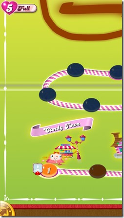 Candy Crush Saga - Reset and back to level 1