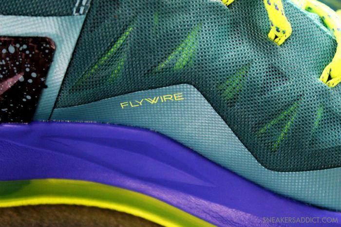 Nike LeBron 10 P.S Elite Sport Turquoise Volt