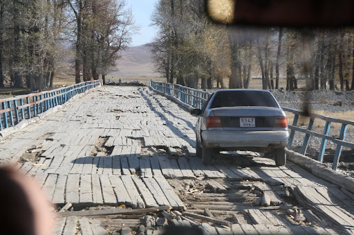 Another fine looking Mongolian bridge