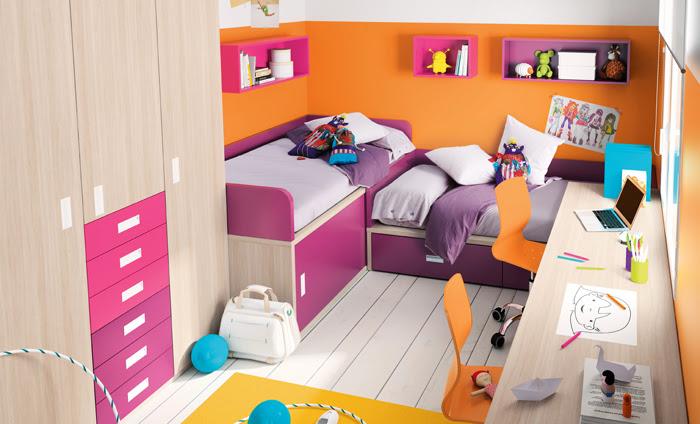 Organizar el armario de los ni os no es misi n imposible - Dormitorios infantiles para dos ...