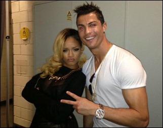 Rihanna e Cristiano Ronaldo