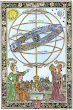 Woodcut Of The Celestial Sphere By Erhard Schon 1515