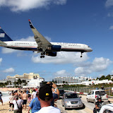 "Maho - Hundreds Of People Come Out Here Every Day For Their Airplane ""Buzz"" - Philipsburg, St. Maarten"