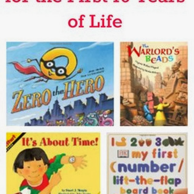 10 Math Books for First 10 Years of Life