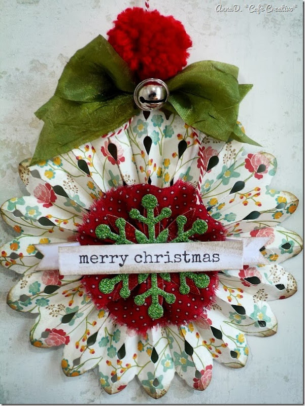 cafe creativo - Anna Drai - sizzix big shot - christmas tree (3)