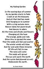 Susan's poem