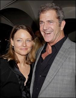 Jodie Foster e Mel Gibson