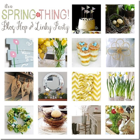 It's a Spring Thing Blog Hop Posts from Setting for Four