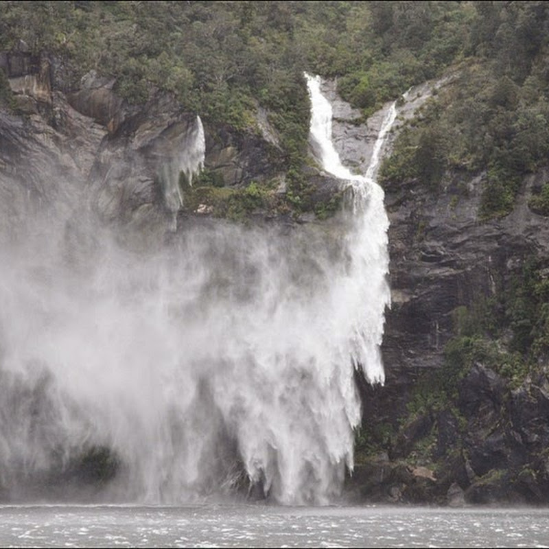 Milford Sound's Flying Waterfalls