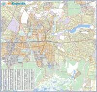 Печатный вариант карты геоКоролёв