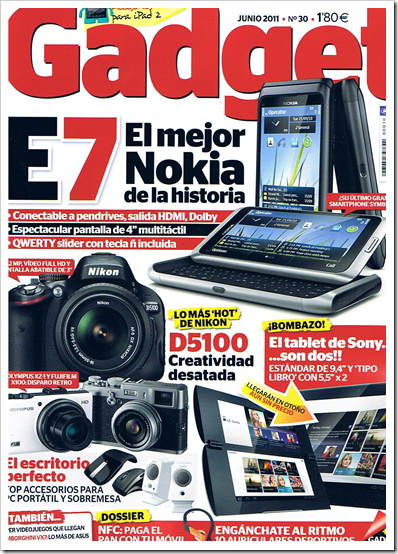 Revista Gadget Junio 2011