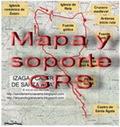 Mapa y soporte GPS - ruta megalítica de Arano