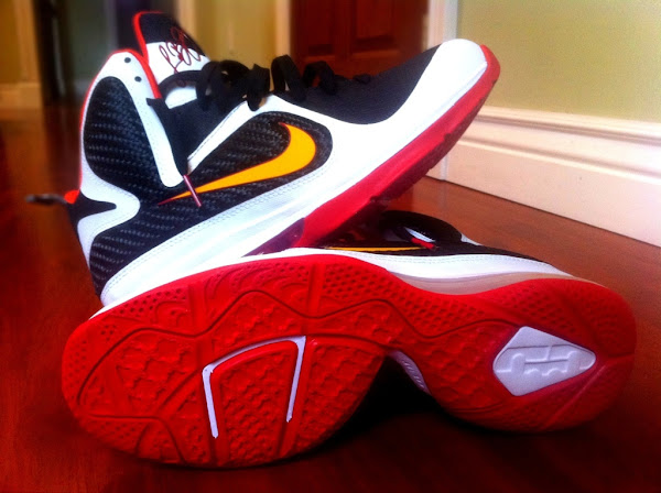 Unofficial Nike LeBron 9 iD 8220Miami Heat8221 Build by gentry187